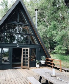 Incredible Homes Decorating Ideas With Black Exteriors30