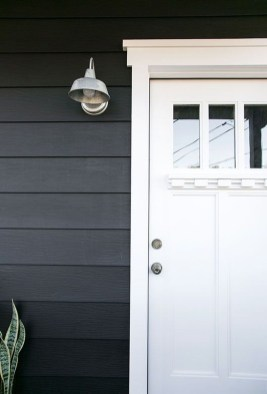 Incredible Homes Decorating Ideas With Black Exteriors35