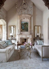 Perfect French Country Living Room Design Ideas12