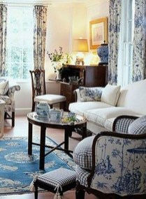 Perfect French Country Living Room Design Ideas23