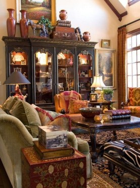 Perfect French Country Living Room Design Ideas27