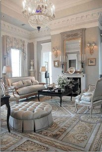 Perfect French Country Living Room Design Ideas28