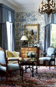 Perfect French Country Living Room Design Ideas29