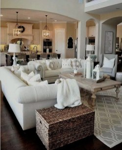 Perfect French Country Living Room Design Ideas32