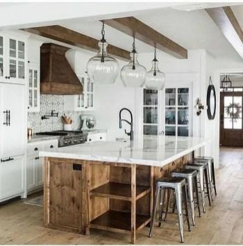 Pretty Farmhouse Kitchen Makeover Design Ideas On A Budget16