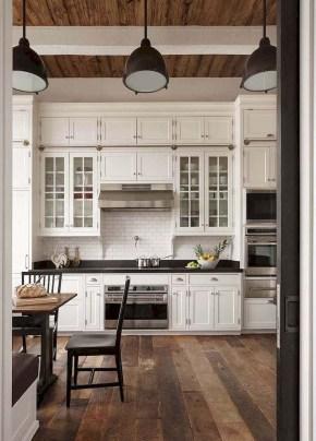 Pretty Farmhouse Kitchen Makeover Design Ideas On A Budget32