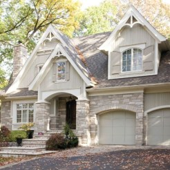 Pretty Stone House Design Ideas On A Budget05