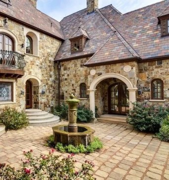 Pretty Stone House Design Ideas On A Budget07