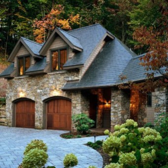 Pretty Stone House Design Ideas On A Budget08