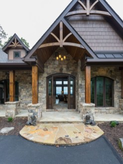Pretty Stone House Design Ideas On A Budget17