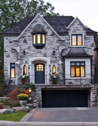 Pretty Stone House Design Ideas On A Budget18