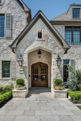 Pretty Stone House Design Ideas On A Budget30