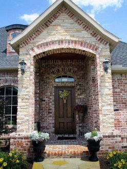 Pretty Stone House Design Ideas On A Budget36