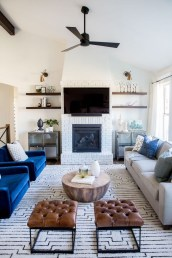 Relaxing Living Rooms Design Ideas With Fireplaces02