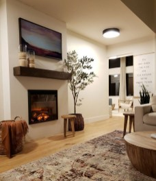 Relaxing Living Rooms Design Ideas With Fireplaces34