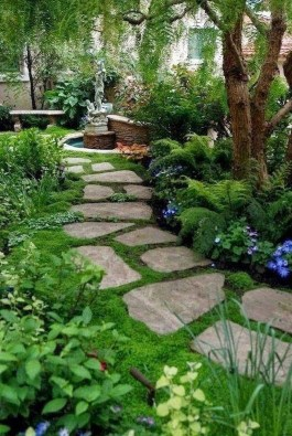 Rustic Front Yard Landscaping Ideas25