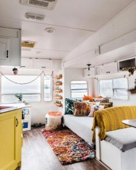 Shabby Chic Trailer Makeover Renovation Ideas11