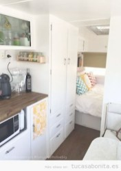 Shabby Chic Trailer Makeover Renovation Ideas31