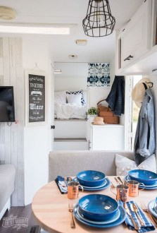 Shabby Chic Trailer Makeover Renovation Ideas33