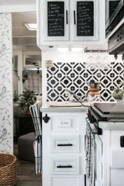 Shabby Chic Trailer Makeover Renovation Ideas38