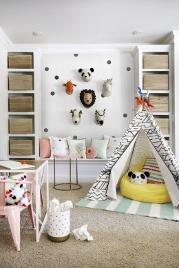 Splendid Diy Playroom Kids Decorating Ideas15