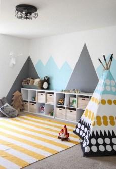 Splendid Diy Playroom Kids Decorating Ideas20
