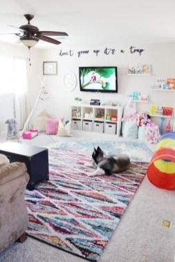 Splendid Diy Playroom Kids Decorating Ideas24