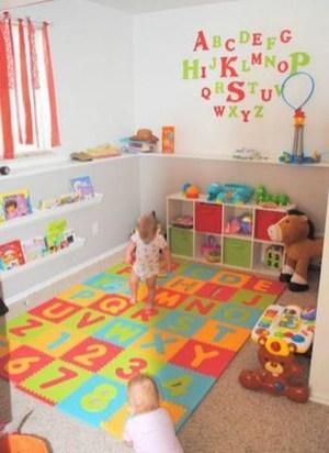 Splendid Diy Playroom Kids Decorating Ideas36