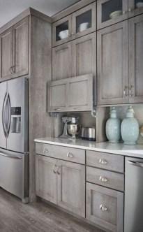 Stylish Farmhouse Kitchen Cabinet Design Ideas14