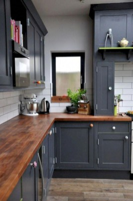 Stylish Farmhouse Kitchen Cabinet Design Ideas17