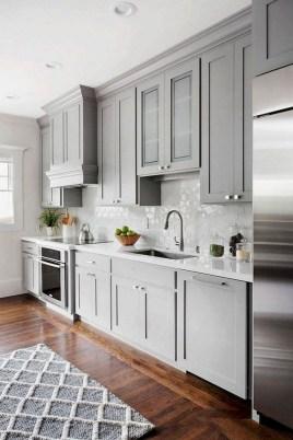 Stylish Farmhouse Kitchen Cabinet Design Ideas18