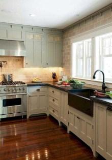 Stylish Farmhouse Kitchen Cabinet Design Ideas22