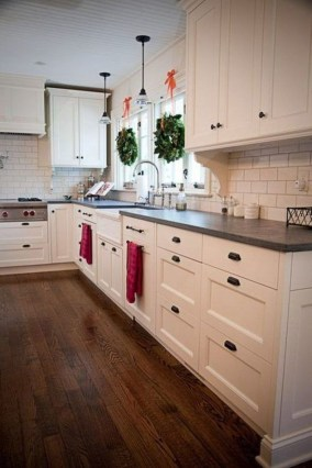Stylish Farmhouse Kitchen Cabinet Design Ideas24