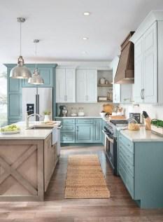 Stylish Farmhouse Kitchen Cabinet Design Ideas34