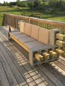 Unique Diy Cinder Block Furniture Decor Ideas22