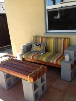 Unique Diy Cinder Block Furniture Decor Ideas23