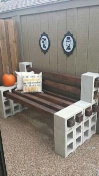 Unique Diy Cinder Block Furniture Decor Ideas39