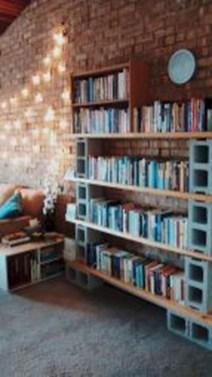 Unique Diy Cinder Block Furniture Decor Ideas40