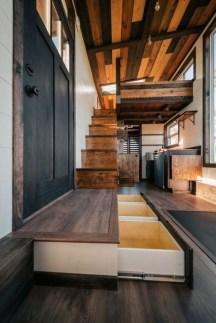 Astonishing Tiny House Design Ideas With Fabulous Storage21