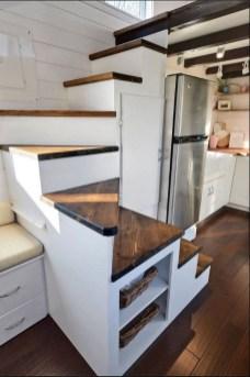 Astonishing Tiny House Design Ideas With Fabulous Storage41
