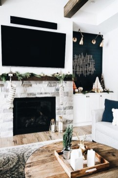 Cool Living Room Design Ideas With Fireplace To Keep You Warm This Winter06