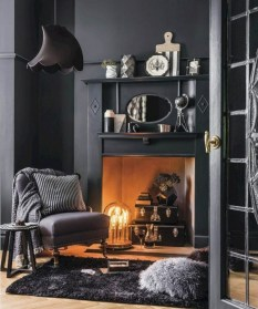 Cool Living Room Design Ideas With Fireplace To Keep You Warm This Winter28