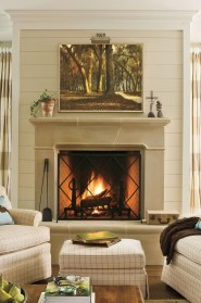 Cool Living Room Design Ideas With Fireplace To Keep You Warm This Winter31
