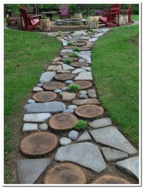 Fascinating Side Yard And Backyard Gravel Garden Design Ideas That Looks Cool09