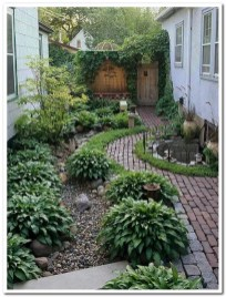 Fascinating Side Yard And Backyard Gravel Garden Design Ideas That Looks Cool10