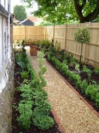 Fascinating Side Yard And Backyard Gravel Garden Design Ideas That Looks Cool11