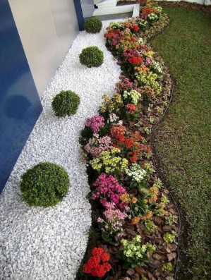 Fascinating Side Yard And Backyard Gravel Garden Design Ideas That Looks Cool33