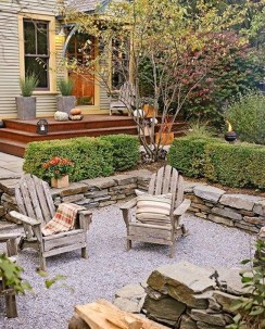 Fascinating Side Yard And Backyard Gravel Garden Design Ideas That Looks Cool39