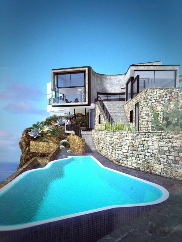 Fearsome Cliff Side Houses With Amazing Views25