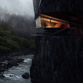 Fearsome Cliff Side Houses With Amazing Views40